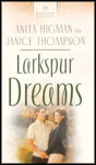 book cover: larkspur dreams